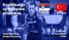 Kvalifikacije za EP u košarci za žene 2021. Srbija/Turska