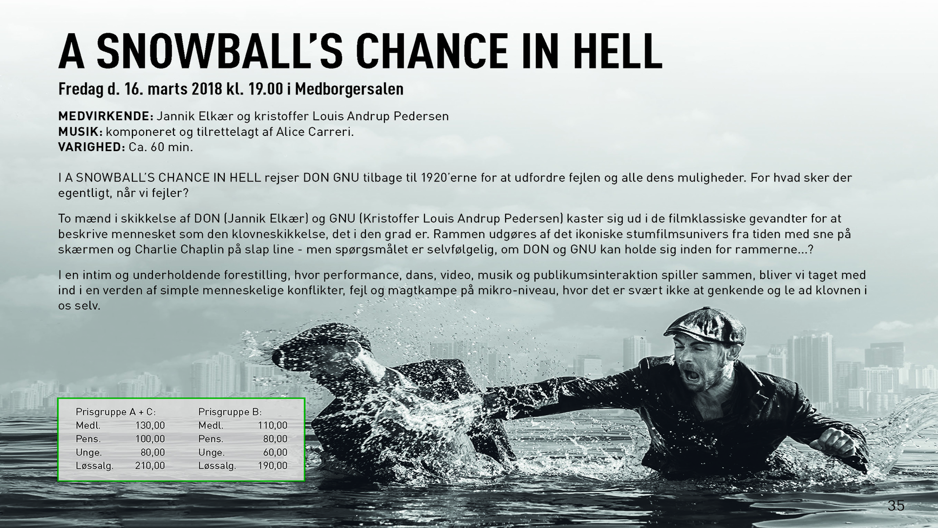 A Snowball´s Chance In Hell