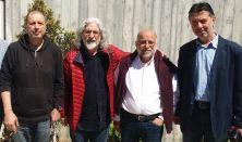Ο Νίκος Βήχας συναντά τους Σάββα Σάββα, Ευαγόρα Καραγιώργη, Γιώργο Κάρβελλο