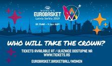 FIBA Women's EuroBasket 2019 - Zrenjanin-Round Pass