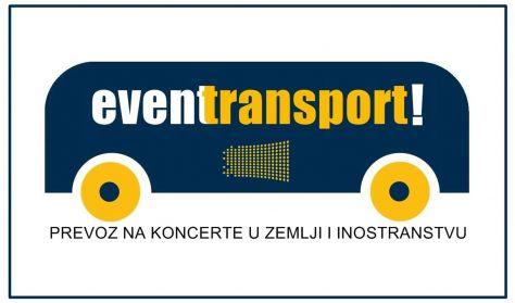 Prevoz na koncert PARNI VALJAK