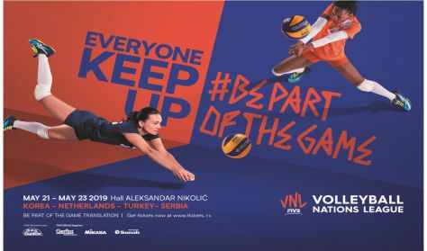 VOLLEYBALL NATIONS LEAGUE 2019 - NED vs KOR/TUR vs SRB