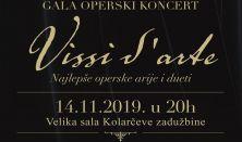 Gala operski koncert Vissi d'arte