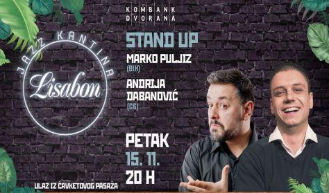 Andrija Dabanović i Marko Puljiz - Stand up tour 2019