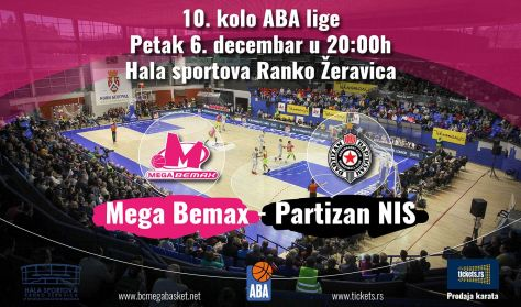 MEGA BEMAX - PARTIZAN NIS