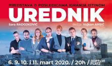 Predstava UREDNIK - premijera