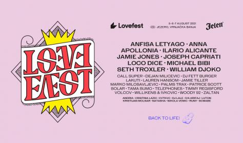 LOVEFEST 2021 - dnevna karta