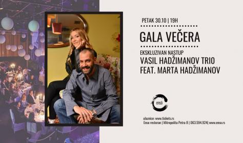 Vasil Hadžimanov Trio feat Marta Hadžimanov