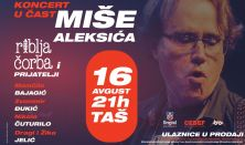 Koncert u čast Miše Aleksića