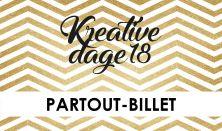 Kreative Dage - Partoutkort
