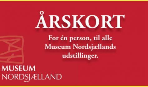 Årsbillet til Museum Nordsjælland