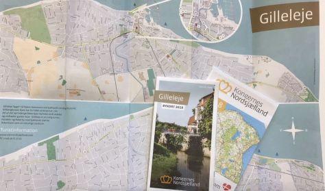 Bykort over Gilleleje