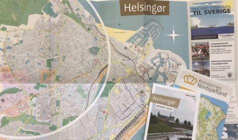 Bykort over Helsingør