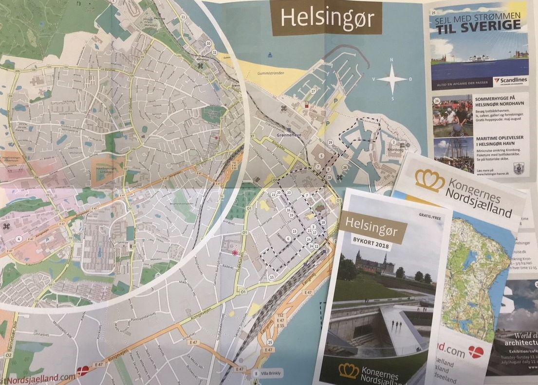 Bykort Over Helsingor Billetexpressen Dk