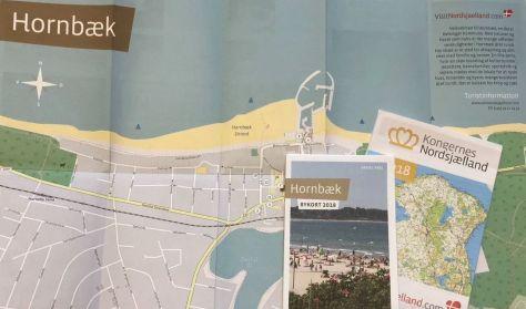 Bykort over Hornbæk