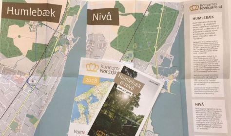 Bykort over Humlebæk-Nivå