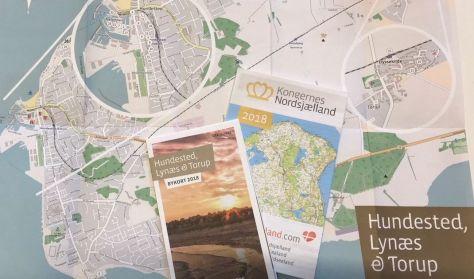 Bykort over Hundested-Lynæs