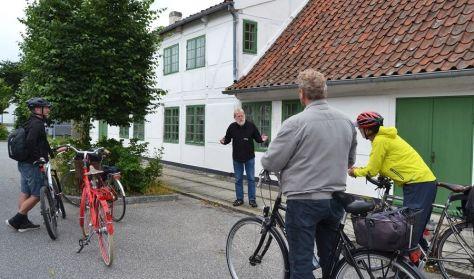 Historie på cykel – Stål, Kobber og Krudt