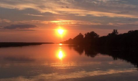 Solnedgangstur i havkajak