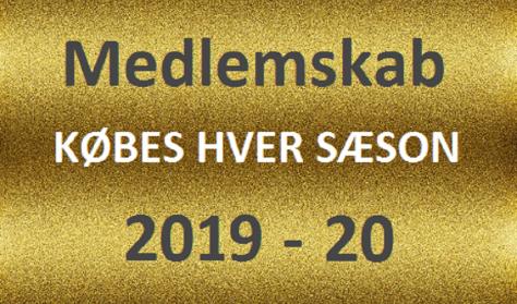 Medlemskab 2019-20