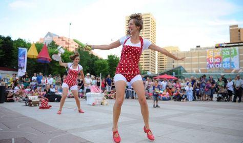 Gadeteater: Kif Kif sisters, Jam Side Up