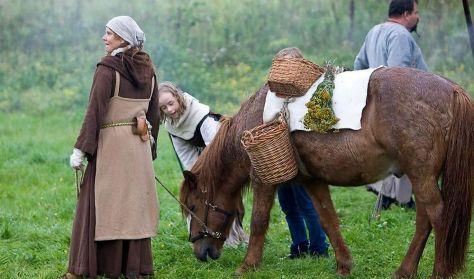 Horse Back Archery Denmark besøger Bork Vikingehavn