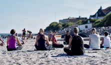 Yoga og vandretur på Esrum-Tisvildevejen