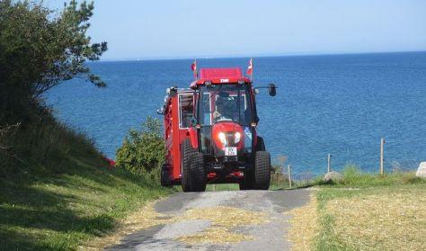 Omø rundt med Traktorbus