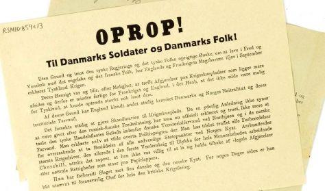 Besættelsesbyvandring i Ringkøbing