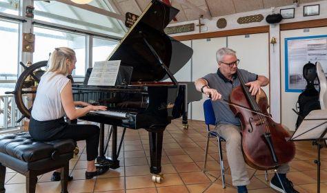 Koncert på Anker Fjord Hospice