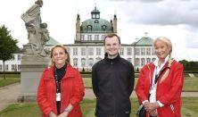 Følg årets løvfald rundt om Fredensborg slot i den smukke slotspark